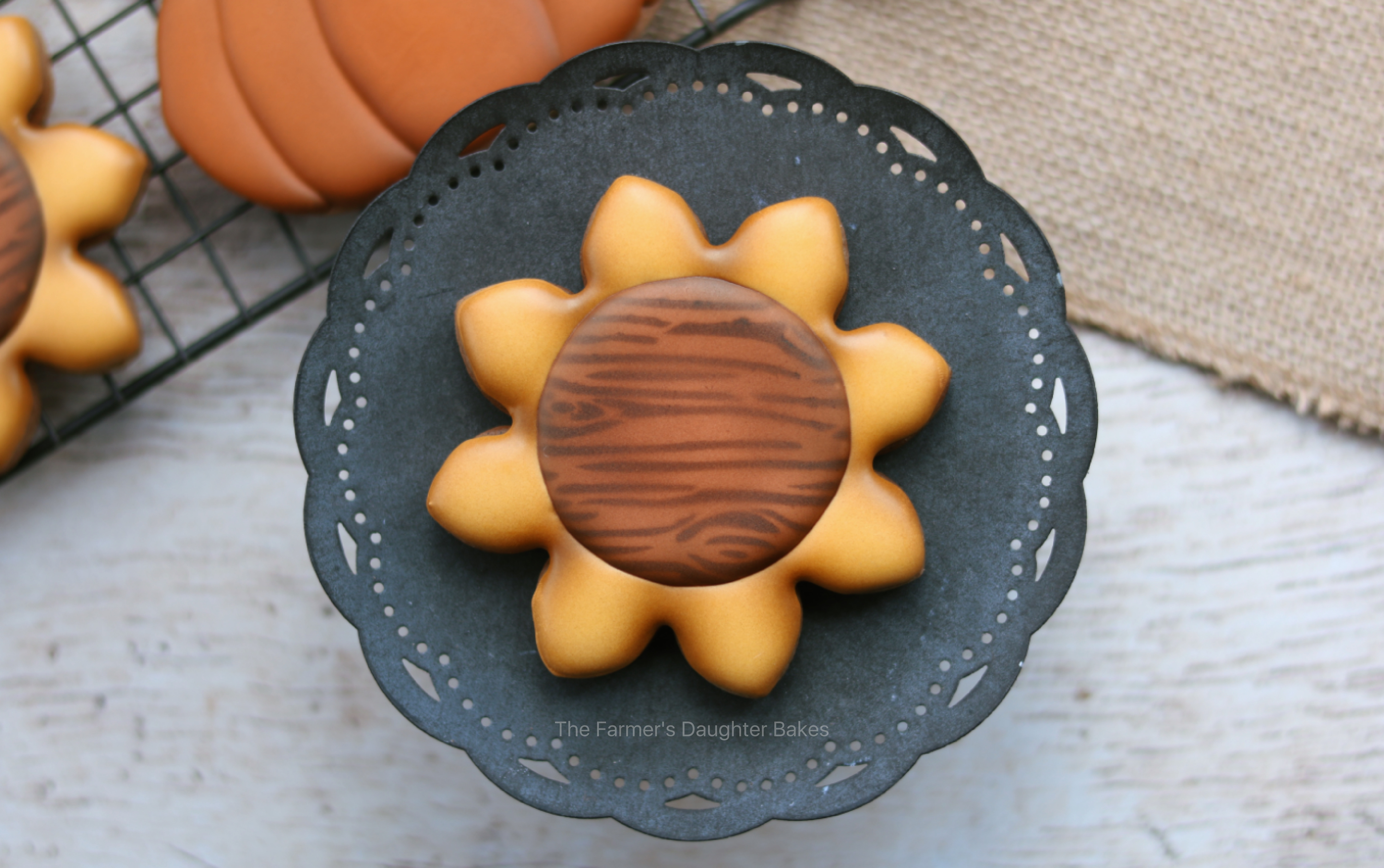 cookie, cookie art, thanksgiving cookies, sunflower, sunflower cookie